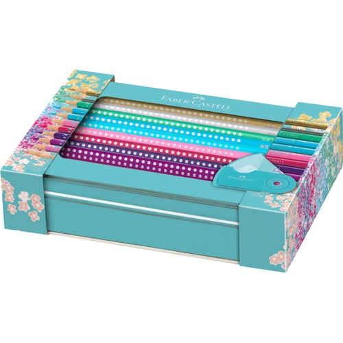 Brillante Sparkle Buntstifte 20er Set + Sleeve Spitzer