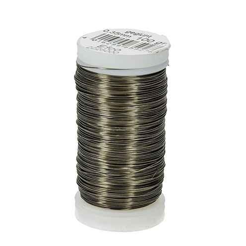 Bindedraht Ø 0,35 mm, ca. 125m Eisen geglüht