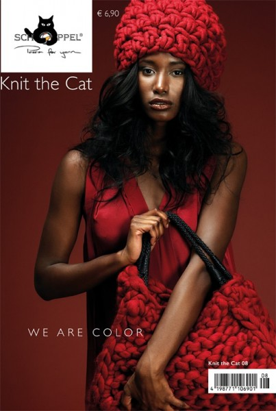 Schoppel Strickanleitung Knit the Cat Nr. 8 We are Color