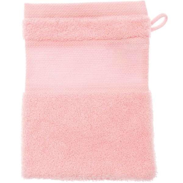 Waschhandschuh zum besticken, 15x21cm, rosa