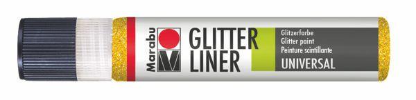 519 Glitter-Gelb