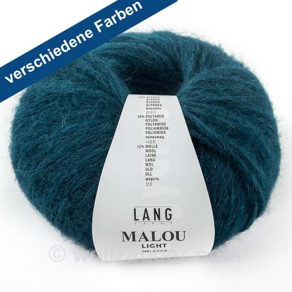 Lang Yarns Malou light 887, wollzauber