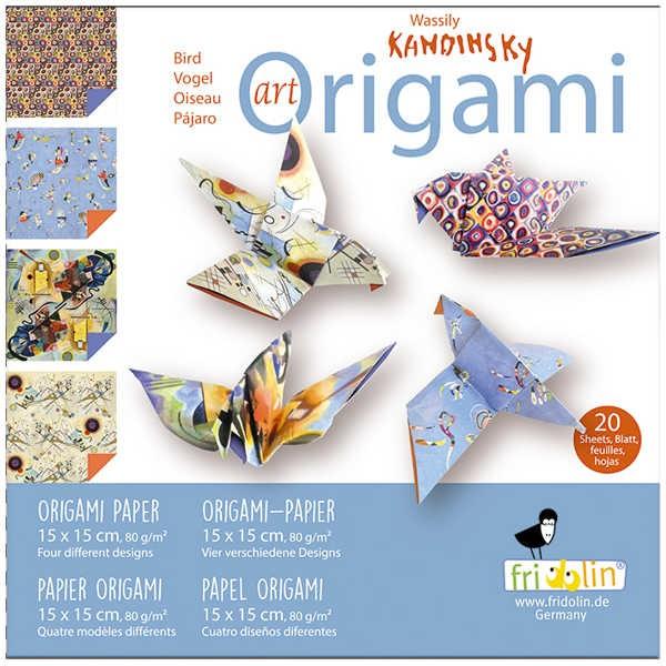 "Origami Faltblätter 80g/m² 15x15cm - 20 Blatt ""Kandinsky"""