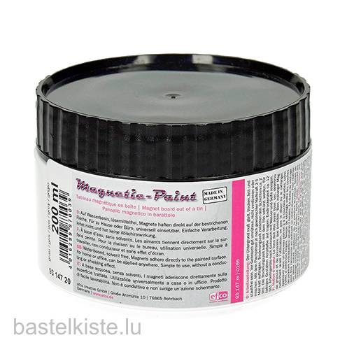 Magnetic-Paint, Magnetfarbe 200ml