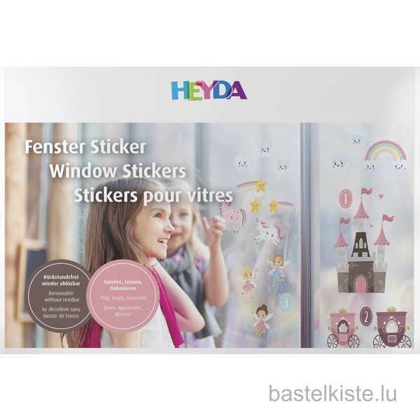"""Window Sticker, Fenster Sticker """"Zählen / Feen"""""""