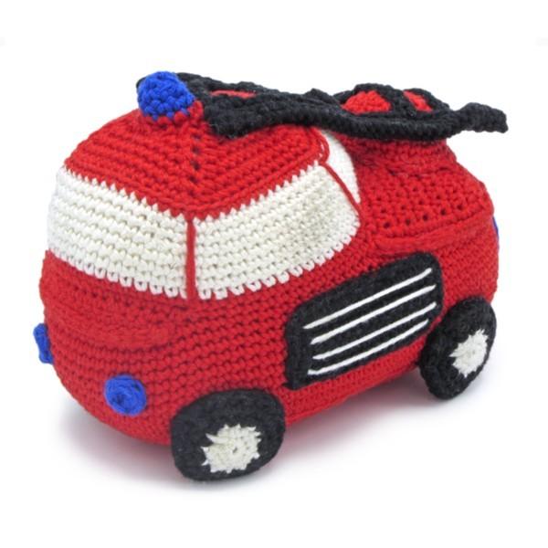 HäkelSet Feuerwehrauto (AMIGURUMI)