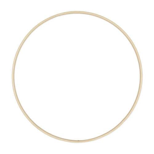 Flache Bambusringe 10 x 4 mm