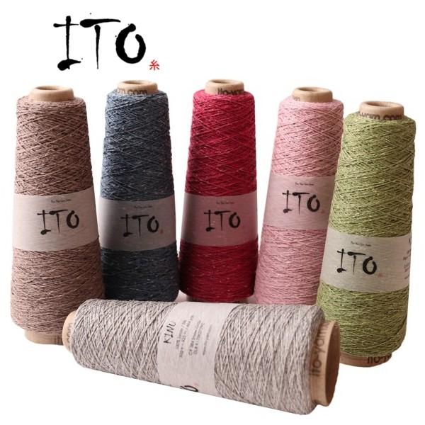 ITO Kinu 50g 100% Seide wollzauber.com, ITO Wolle