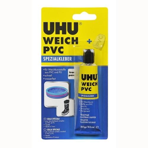 UHU Spezialkleber Weichkunststoffe & PVC, 30g