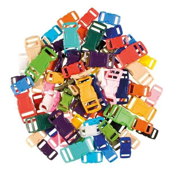 Klickschnallen in verschiedenen Farben EFCO