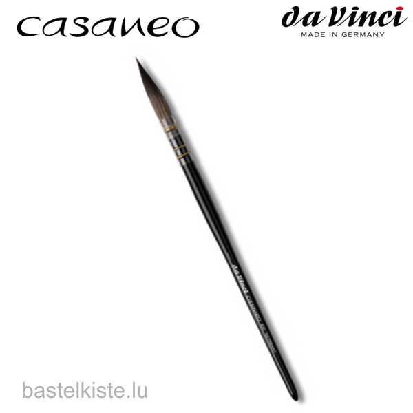 Da Vinci CASANEO 490 Aquarellpinsel, Kalligraphiepinsel mit langen Fasern