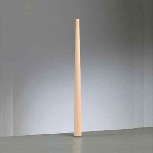 Ringstock aus Holz L 375 mm / ø 12 - 24 mm roh