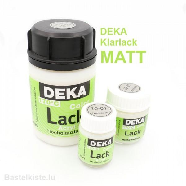 DEKA LACK ►MATT◄ Transparentlack, Mattlack
