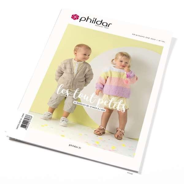 Strickanleitung Phildar Frühling Sommer 2020 Nummer 184 Kinder
