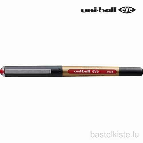 Tintenroller uni-ball EYE board, ROT
