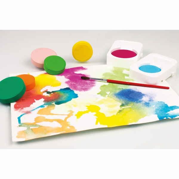 Farbtabletten, Deckfarben in Tablettenform Ø 44mm