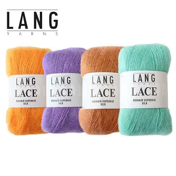 Lang Yarns Mohair Superkid Silk wollzauber Gruppenbild
