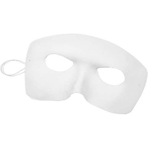 Harlekin-Maske Gesichtsmaske mit Befestigungsgummi