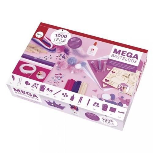 MEGA Bastelbox Unicorn mit 1000 Teilen