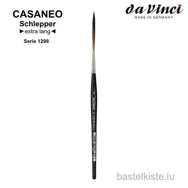 Da Vinci CASANEO Schlepper spitz, extra lang