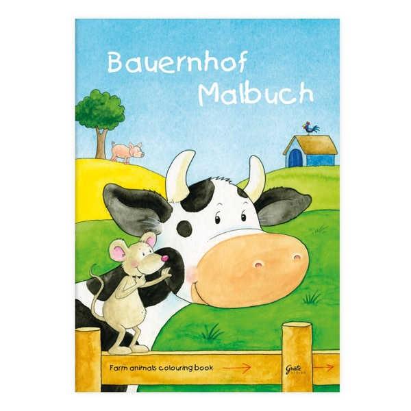 Malbuch Bauernhof DIN A4, 24 Seiten