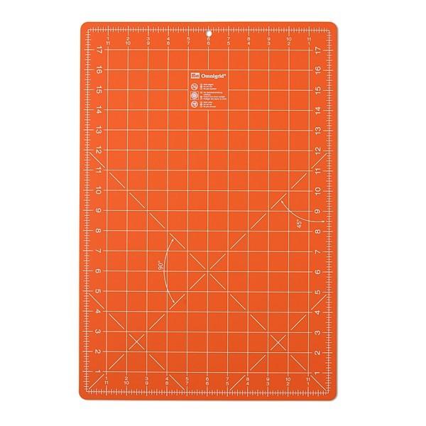Schneidunterlagen 30x45 cm orange prym