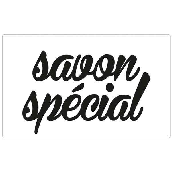 """RAYHER Seifenlabel """"savon spécial"""""""