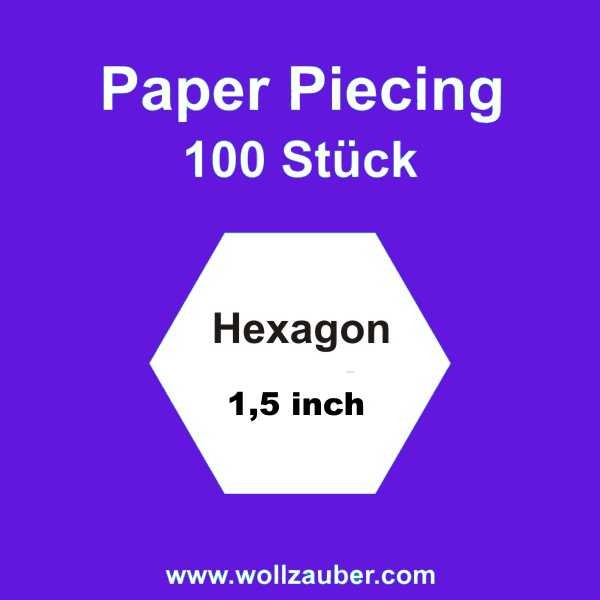 Templates Paper Hexagon 1,5 inch