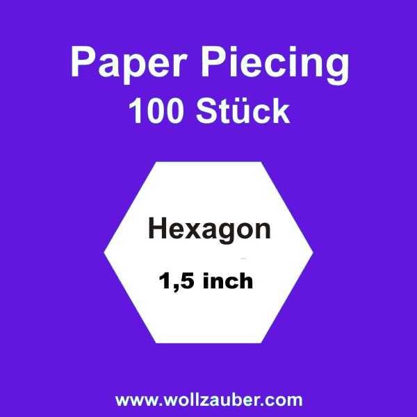 Templates Paper Hexagon 1,5 inch