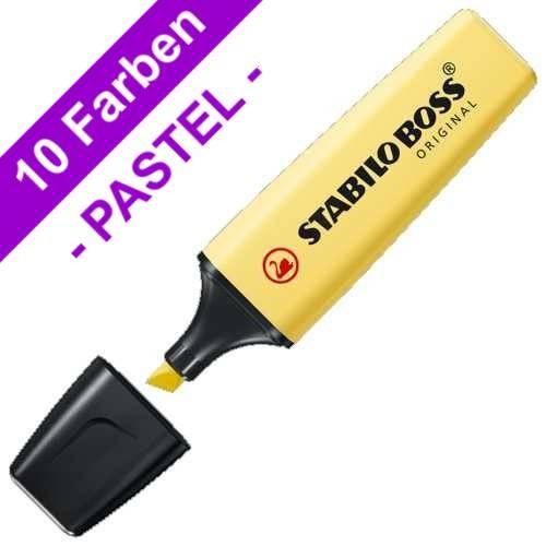 STABILO BOSS Original PASTELL Textmarker