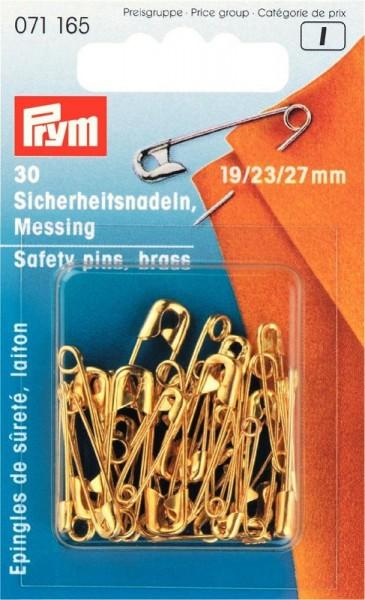Sicherheitsnadeln Messingfarbig von PRYM 071165