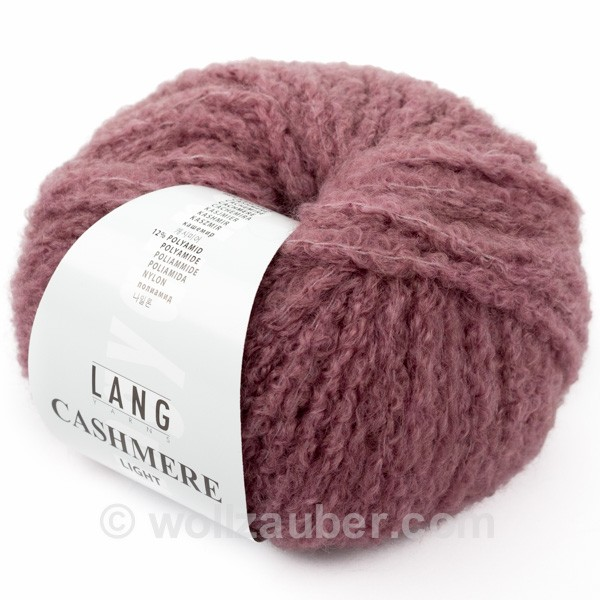 LANG YARNS Cashmere Light Farbe 0048