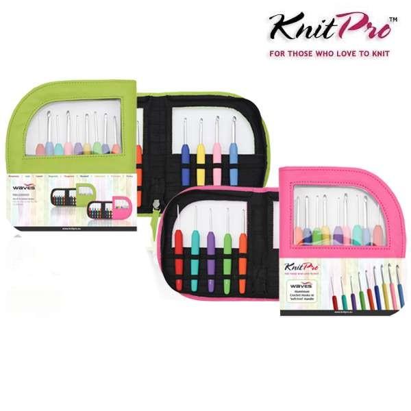 KnitPro Häkelnadel-Set 2,0 bis 6,0mm, 9-teilig