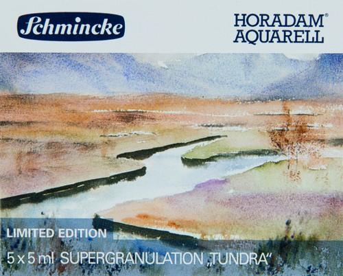 """HORADAM """"TUNDRA"""" Aquarell Set 5 x 5ml Supergranulation"""