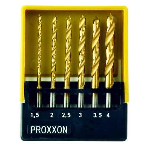 HSS-Spiralbohrer mit Zentrierspitze in Aufbewahrungsbox 6-teilig