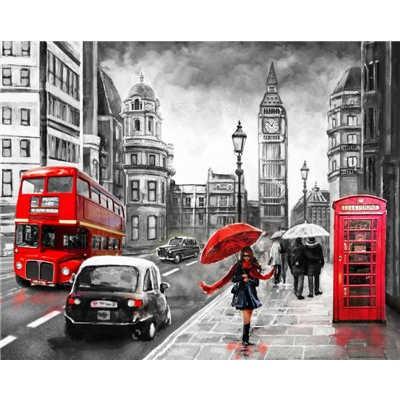 Diamond ART, Daimond Painting 40x50cm, London City