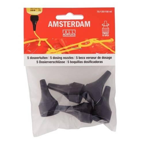 Dosierspitzen für Amsterdam-Tuben, 75-, 120-, 150 ml Tuben