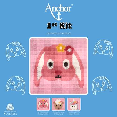 """Anchor Stickpackung, 1st KIT """"Happy Rabbit"""" Hase"""