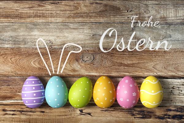 Geschenkgutschein Frohe Ostern Wollzauber.com