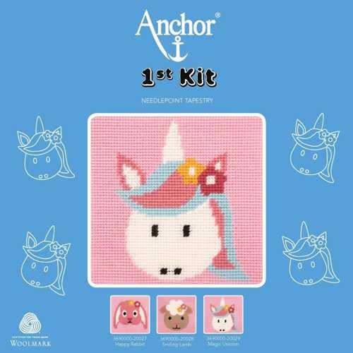 "Anchor Stickpackung, 1st KIT ""Magic Unicorn"" Einhorn"