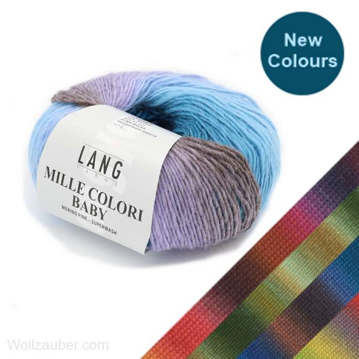 MILLE COLORI BABY von LANG YARNS (new)