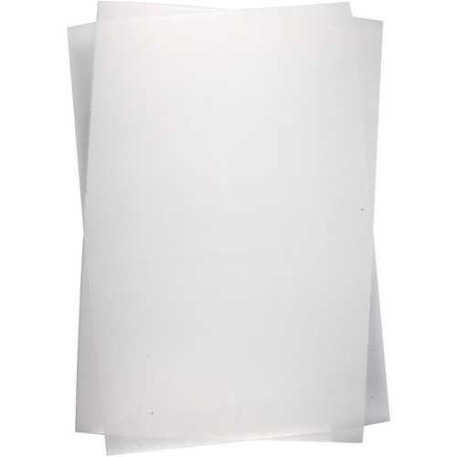 Schrumpffolie, Shrinkfolie 20 x 30 cm matt, 10 Blatt