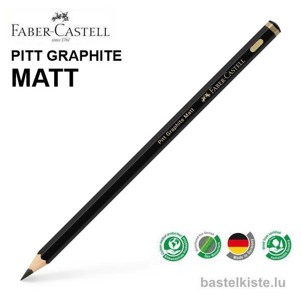 Pitt Graphite MATT Bleistifte einzeln HB bis 14B