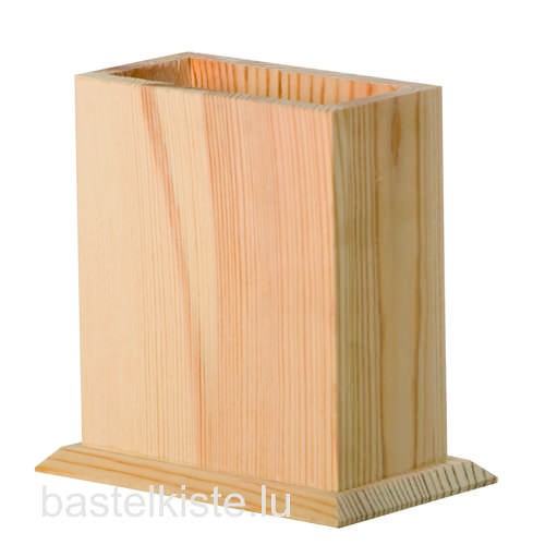 Stiftebox aus Holz