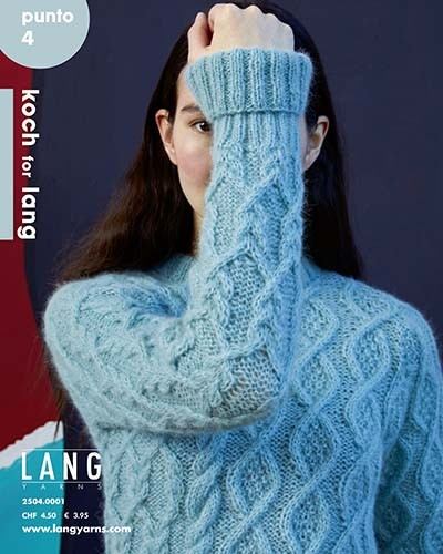 "LANG YARNS Punto 4 ""koch for lang"" - Strickheft"