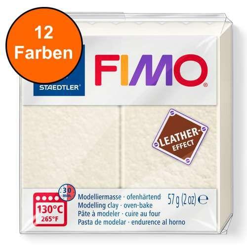 FIMO LEATHER 57g - Ofenhärtende Modelliermasse