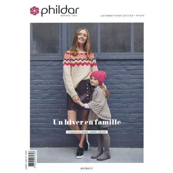 Strickanleitung Phildar Herbst / Winter 2019/20 Nr. 699