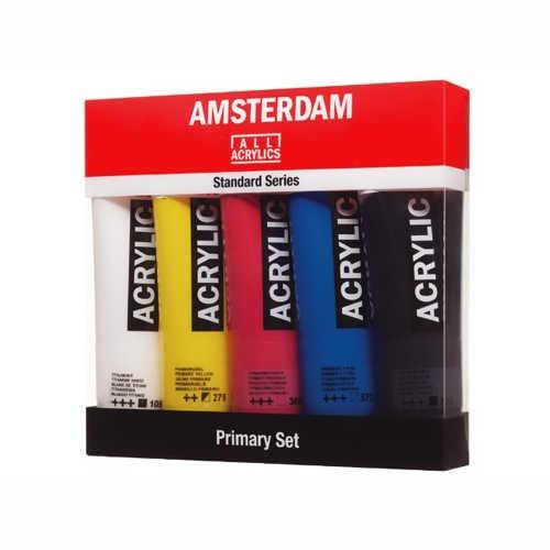 AMSTERDAM Primär-Set Acrylic 5 x 120ml