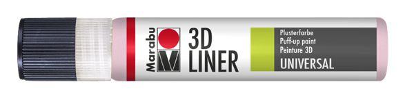 627 3D-Pastellrosa
