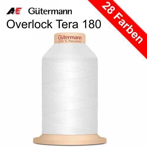 Overlock Tera 180, 2000 m von Gütermann